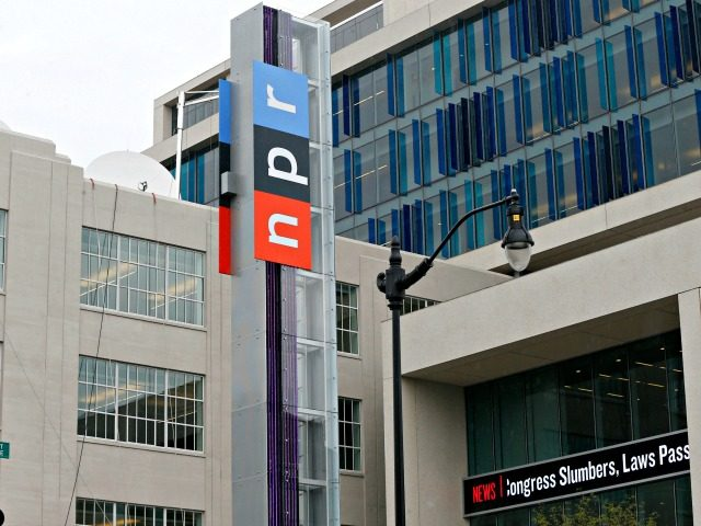 FILE - This April 15, 2013 file photo shows the headquarters for National Public Radio on North Capitol Street in Washington. On Friday, June 12, 2020, The Associated Press reported on stories circulating online incorrectly asserting NPR wants people to burn books written by white people. A story published on …