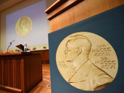 Nobel Prize medal (Jonathan Nackstrand / AFP / Getty)