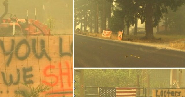 Oregon Homeowners Warn Looters Amid Wildfire: 'You Loot, We Shoot'
