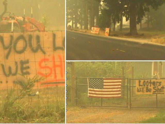 Oregon Homeowners- You Loot, We Shoot