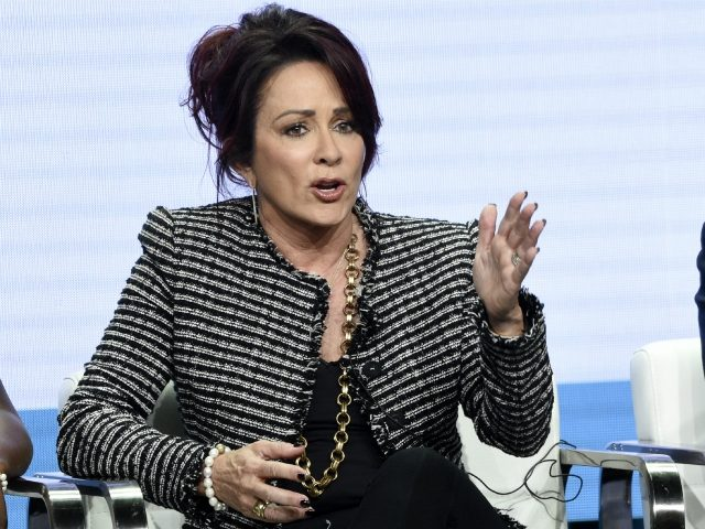 "Patricia Heaton, star/executive producer of the CBS series ""Carol's Second Act,"" takes part in a panel discussion during the Summer 2019 Television Critics Association Press Tour at the Beverly Hilton, Thursday, Aug. 1, 2019, in Beverly Hills, Calif. (Photo by Chris Pizzello/Invision/AP)"