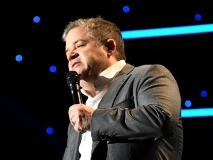BEVERLY HILLS, CALIFORNIA - OCTOBER 17: Patton Oswalt performs onstage at the International Myeloma Foundation 13th Annual Comedy Celebration at The Beverly Hilton Hotel on October 17, 2019 in Beverly Hills, California. (Photo by Araya Diaz/Getty Images for International Myeloma Foundation)