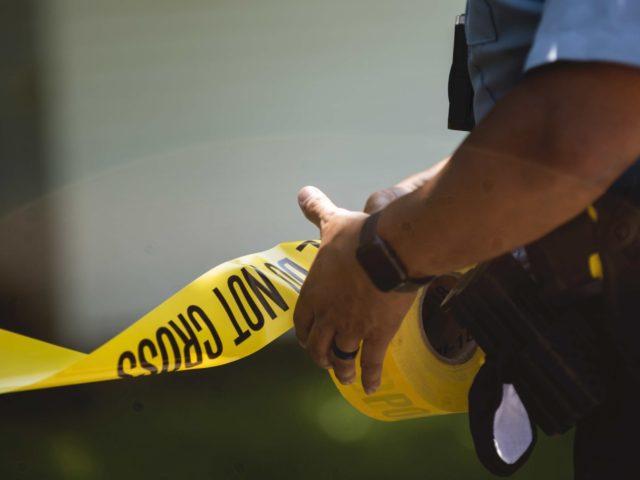 Police Line (Stephen Maturen / Getty)