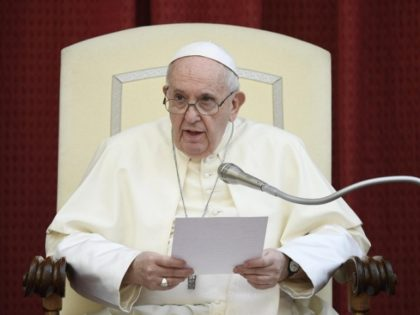 Pope Francis at General Audience September 2