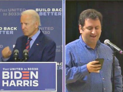 Reporter Questioning Joe Biden