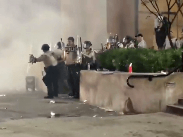 Rioters Try to Burn Down Louisville Hall of Justice