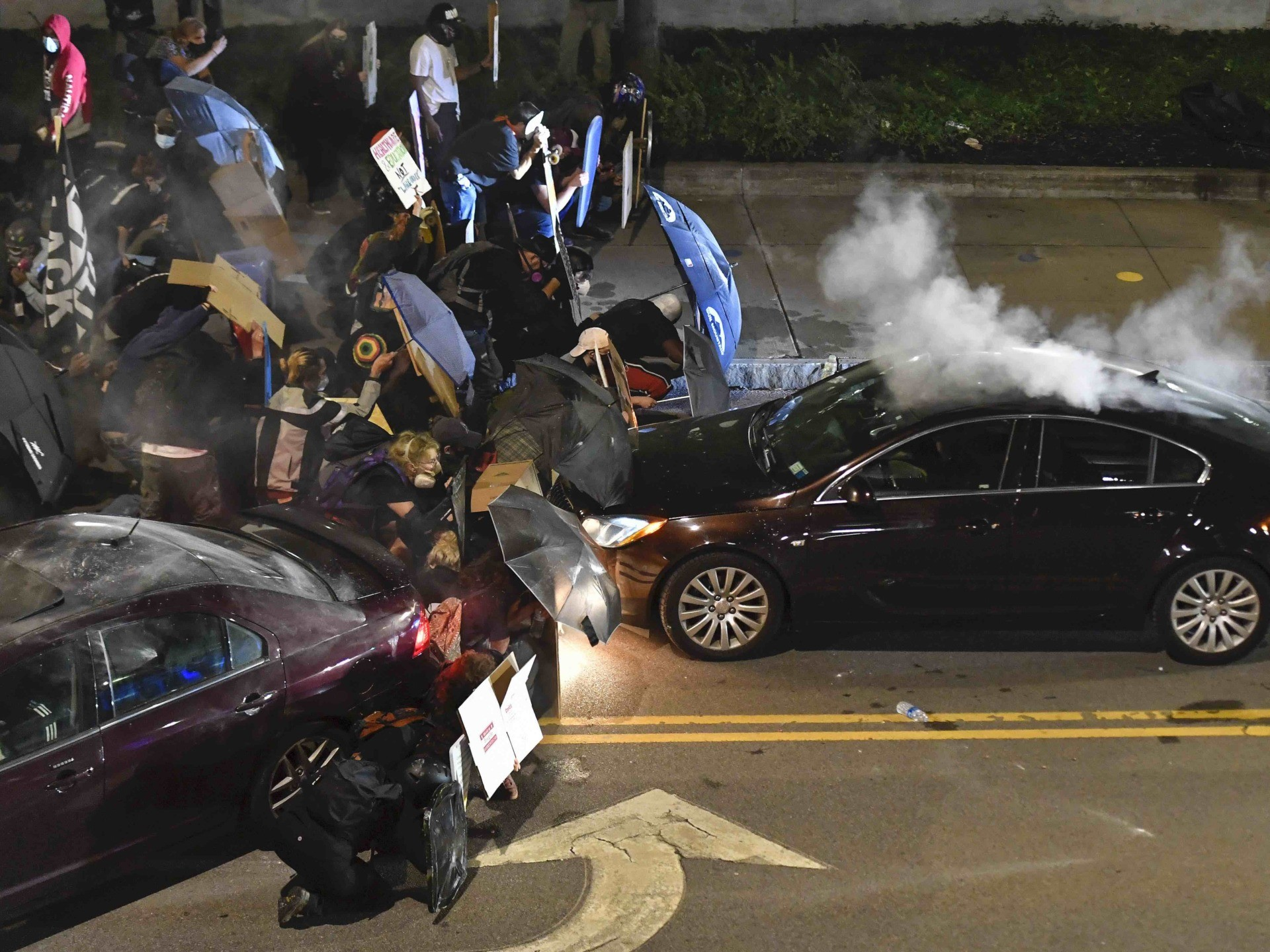 Rochester riot (Adrian Kraus / Associated Press)