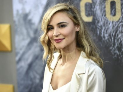 "Samaire Armstrong arrives at the world premiere of ""King Arthur: Legend of the Sword"" at the TCL Chinese Theatre on Monday, May 8, 2017, in Los Angeles. (Photo by Chris Pizzello/Invision/AP)"