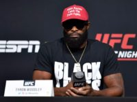 UFC's Tyron Woodley Mocks Colby Covington with Fake MAGA Hat Before Losing