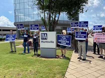 TVA protest