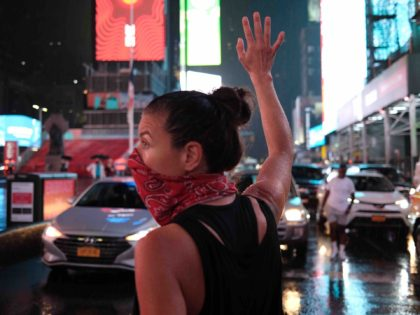 Times Square BLM protest (Spencer Platt / Getty)
