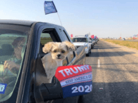 WATCH: Thousands Rally in Pickups for Trump in Texas Panhandle