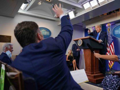 Trump press briefing (Mandel Gan / AFP / Getty)