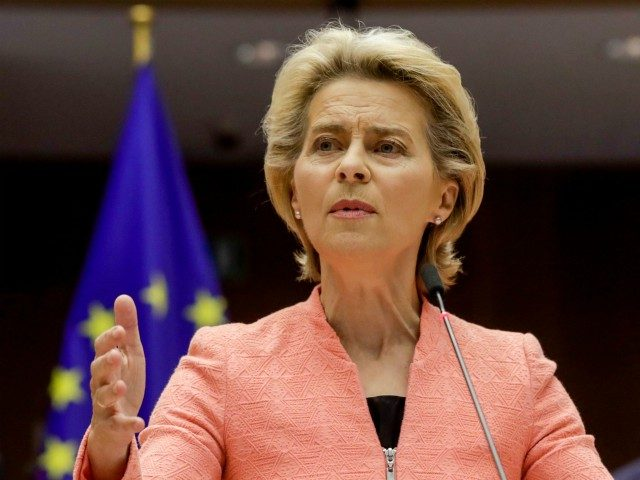 European Union chief pledges green recovery from corona crisis