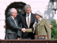 Yitzchak Rabin Oslo Accords (J. David Ake / AFP / Getty)