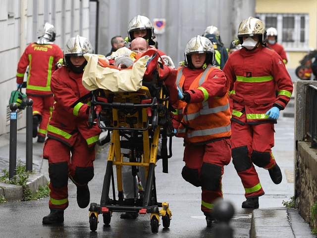 2 wounded in knife attack near former offices of Charlie Hebdo