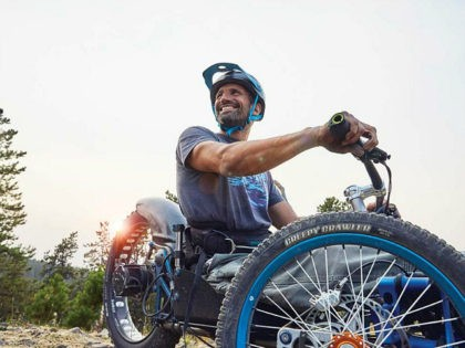 Paralyzed Adventurer Designs Mountain Bike for People with Disabilities