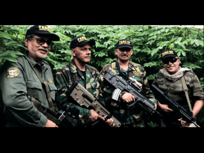 Revolutionary Armed Forces of Colombia (FARC) guerrilla