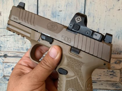 The FN 509 Midsize is an accurate, flawlessly reliable 9mm pistol which is made in Columbia, South Carolina, by FN America.
