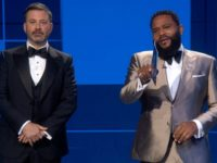 Emmy's: Jimmy Kimmel Joins 'Black-ish' Star in BLM Chant