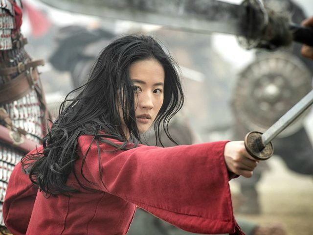 Yifei Liu in Mulan (2020) Titles: Mulan People: Yifei Liu Photo by Jasin Boland - © 2020 Disney Enterprises