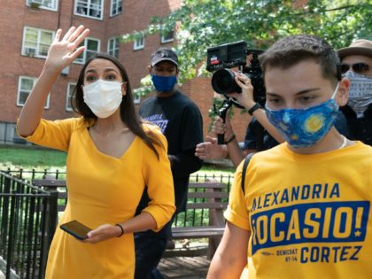 Alexandria Ocasio-Cortez Says She Is Voting in Person