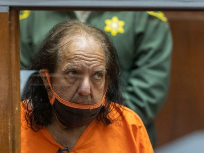 LOS ANGELES, CA - JUNE 26: Adult film star Ron Jeremy appears for arraignment on rape and sexual assault charges at Clara Shortridge Foltz Criminal Justice Center on June 26, 2020 in Los Angeles, California. Jeremy, whose real name is Ronald Jeremy Hyatt, is charged with raping three women and …