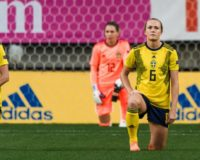 Swedish Women's Soccer Takes a Knee for BLM