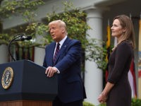 Trump Calls for 'Dignified' Confirmation Hearing for Amy Coney Barrett