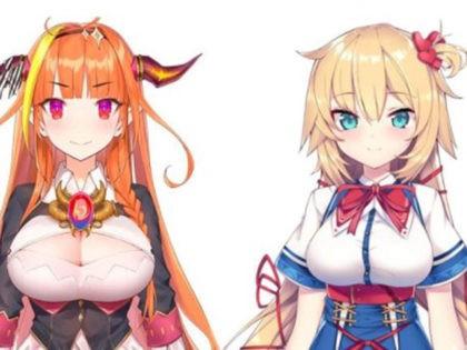 Kiryu Coco and Akai Haato