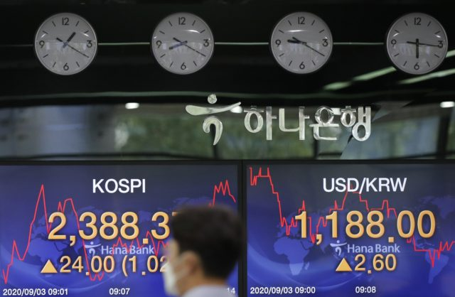 Tech rout sends stock market to its biggest loss since June South-korea-financial-markets-currency-trader-walks-screens-korea-composite-stock-price-kos-640x418