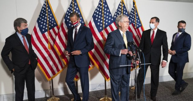 Senate Democrats Block GOP's Slimmed-Down Stimulus Bill - Breitbart
