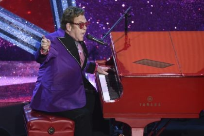 """In this Feb. 9, 2020, file photo, Elton John performs """"(I'm Gonna) Love Me Again,"""" nominated for the award for best original song, from """"Rocketman"""" at the Oscars in Los Angeles. John is opening up his vault and releasing an expansive collection of rarely heard and unreleased tracks. John announced …"""