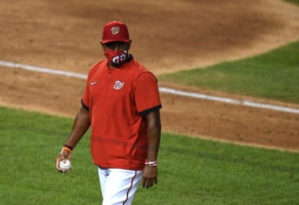 Washington Nationals, manager Dave Martinez agree to extension
