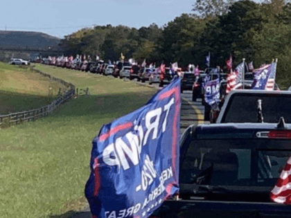 Thousands of supporters of President Donald Trump joined a rolling rally across Long Island on Sunday to mobilize support for the president's re-election.