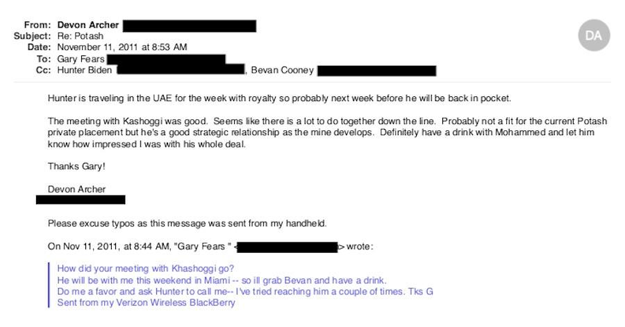 Hunter Biden's Business Partner Flips, Gives Breitbart Access to Everything