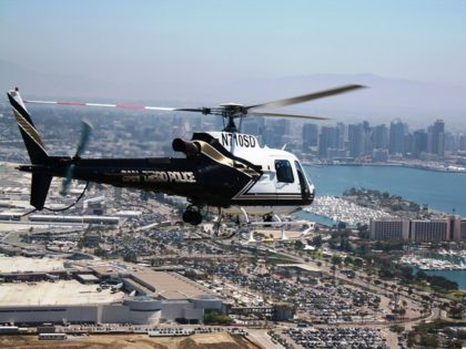 BLM Protester Pointed Laser at San Diego Police Helicopter, Say Feds