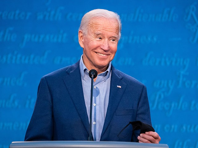 Joe Biden at the First Presidential Debate Hosted By Chris Wallace of Fox News - Cleveland, OH - September 29, 2020