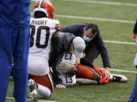 Beckham's Season over, Browns Star WR Tears Knee Ligament