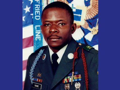 This undated image provided by the U.S. Army, shows Alwyn C. Cashe. In late August 2020, Defense Secretary Mark Esper endorsed awarding the Medal of Honor to a soldier who sustained fatal burns while acting to save fellow soldiers in Iraq in 2005. Army Sgt. 1st Class Alwyn C. Cashe …