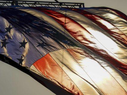 American Flag in Butler (Keith Srakocic / Associated Press)