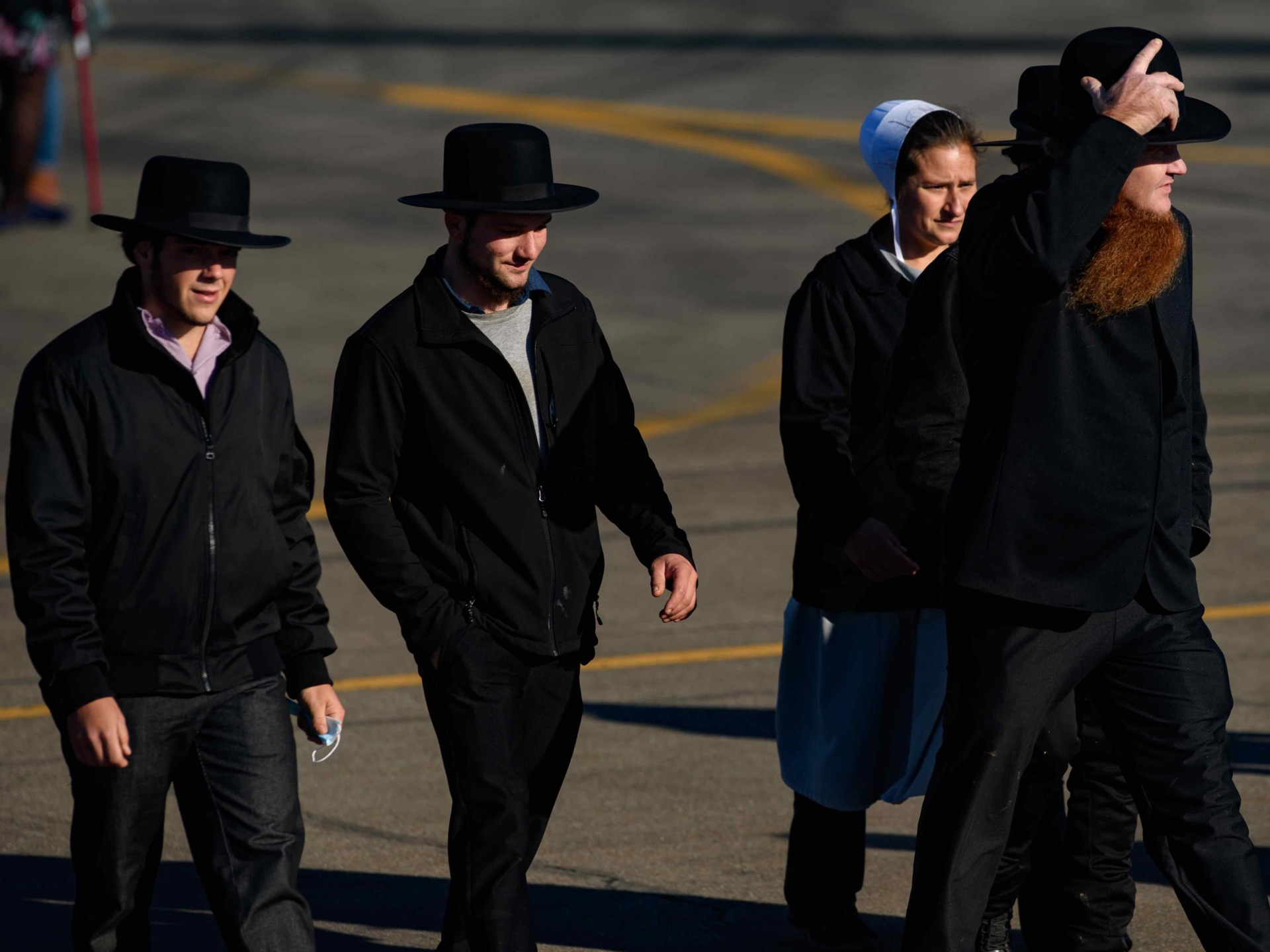 Amish at Butler (Jeff Swensen / Getty)