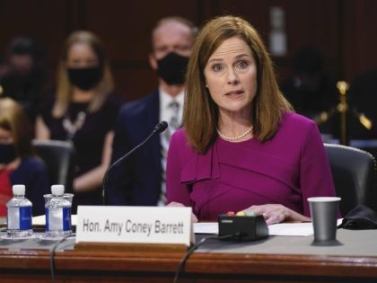 Amy Coney Barrett (Patrick Semansky - Pool / Getty)