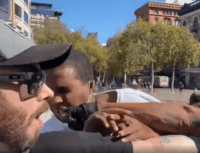 Protester Arrested in Assault of Black Conservative Rally Organizer
