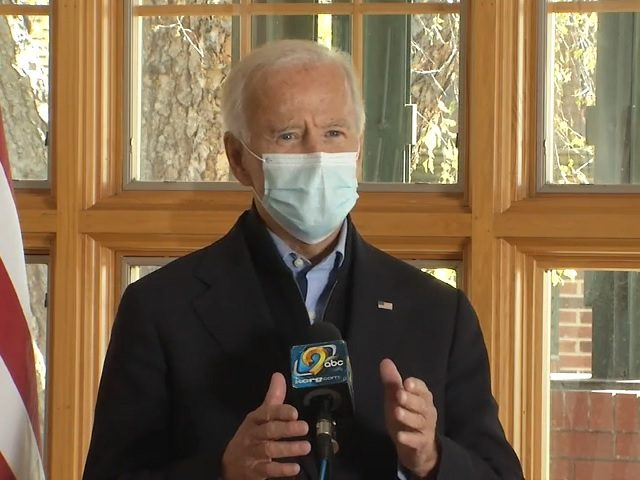 Biden: 'Nothing to' Hunter Biden Laptop Story, 'My Son's an Honorable Man'