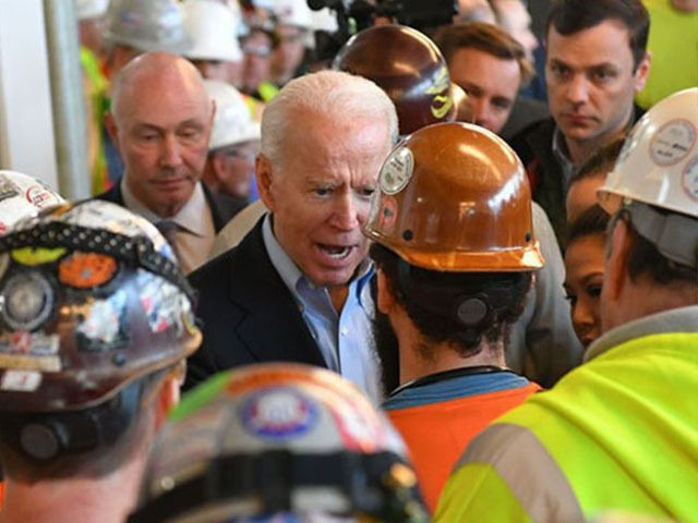 Biden with MI Auto Workers