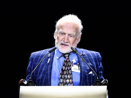 Buzz Aldrin Voices Support for Arizona Republican Martha McSally over Astronaut Mark Kelly
