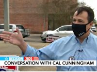 North Carolina Democrat Cal Cunningham Does Not Deny Second Affair