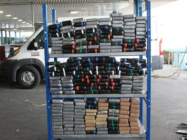 CBP officers in Laredo seize $6.9 million worth of cocaine in two shipments. (Photo: U.S. Customs and Border Protection/Office of Field Operations)