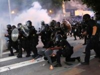 Watch: DC Cops Respond to Violent Protesters with Tear Gas, Flash Bangs
